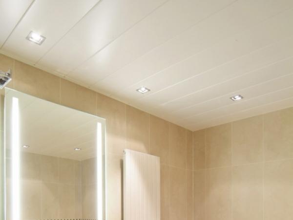 Пластиковые потолки в ванной комнате своими руками видео