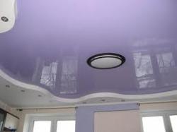 Многоуровневые натяжные потолки.