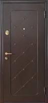 Оформление металлических дверей