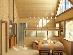 Какими фрезерованными деталями лучше отделать деревянный дом внутри?