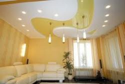 Дизайнерские натяжные потолки.