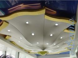 натяжной потолок - виды