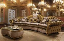 Правила оформления дизайна спальни и гостиной в итальянском стиле