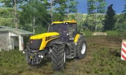 трактор JCB Fastrac 8310