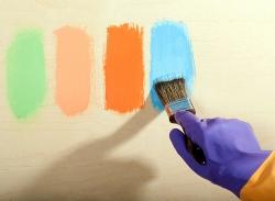 краска для внутренних работ - нюансы выбора