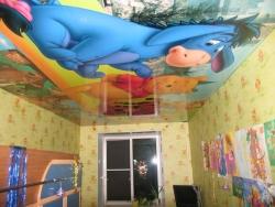 детский натяжной потолок