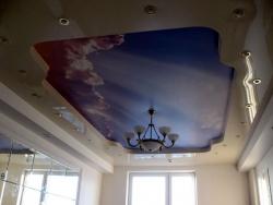 Натяжной потолок для дизайна и души
