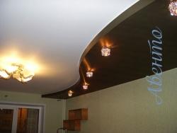 Натяжной потолок в интерьере