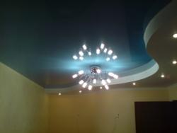 Натяжной потолок и его освещение