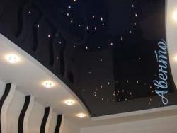 Популярные натяжные потолки