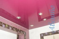 Правильное расположение швов при печати на натяжных потолках.