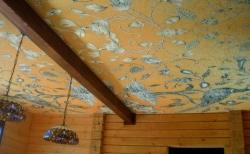 Плюсы и минусы натяжного потолка из ткани