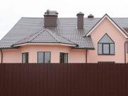 профлист при монтаже оград и ворот