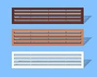 существующие типы вентиляционных решеток