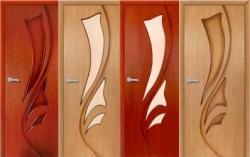 преимущества и виды шпонированных дверей
