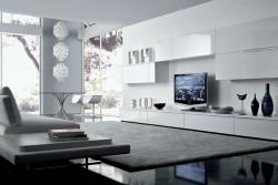 Современный стиль в гостиной комнате