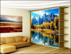 использование стекла с фотопечатью в интерьере