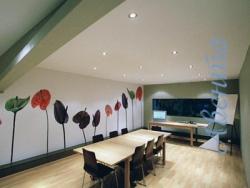 Натяжные потолки дают возможность творить