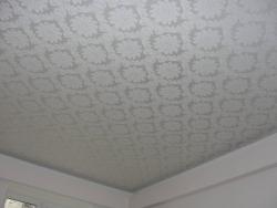 потолок натяжной из тканевого полотна