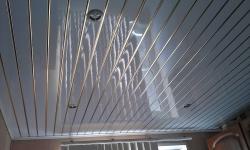 как устанавливаются потолочные панели из ПВХ