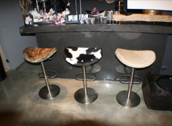 Варианты барных стульев в зависимости от интерьера помещения