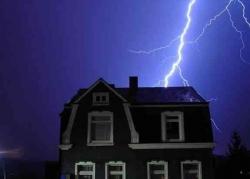 защита зданий от молнии